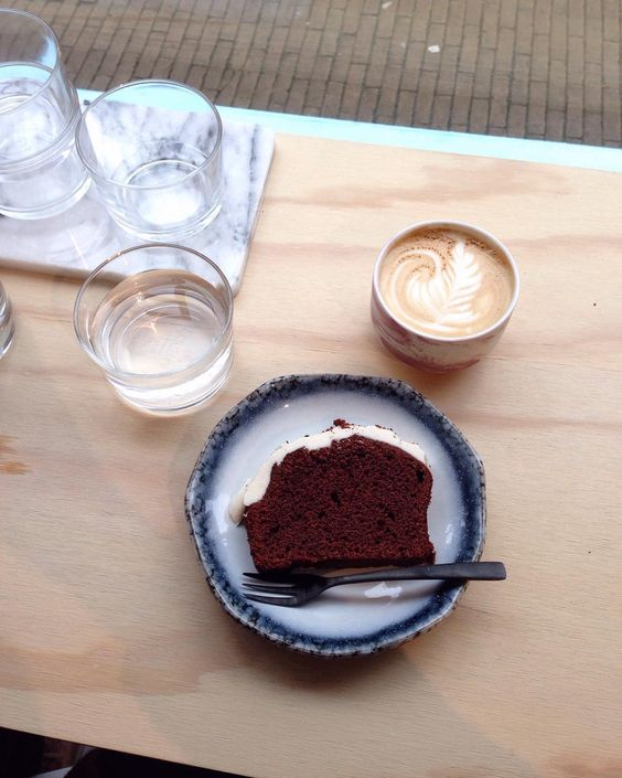 Coffee and Cake at Mica