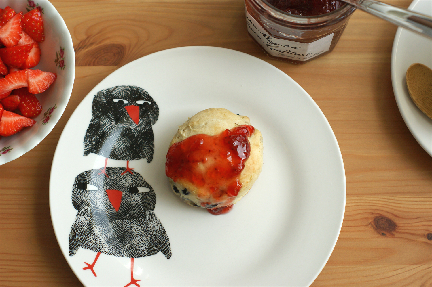 scone-with-strawberry-jam